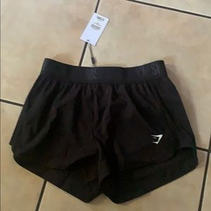 NWT Gymshark Loose training Shorts in Black